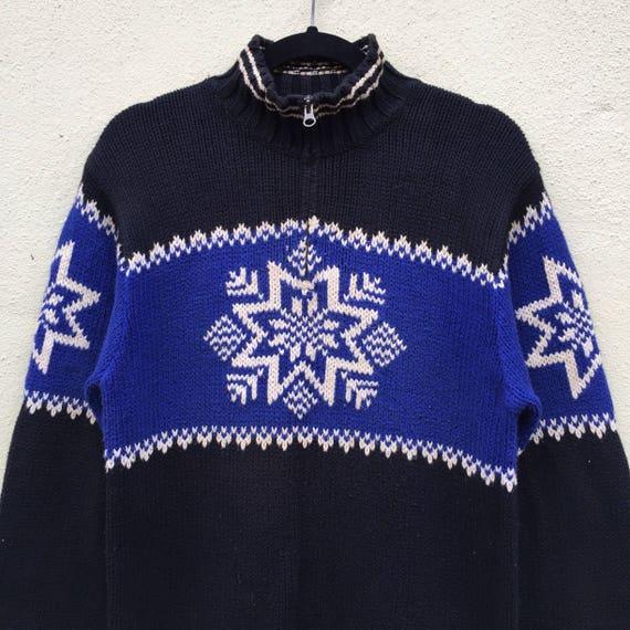 LAUREN Rare Knitwear Lauren POLO Style Ralph Size RALPH Knitwear Fashion Half By Block Zipper Colour Medium CtFftqwx