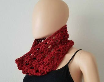 Climbing Shells Cowl Crochet Pattern *PDF FILE ONLY* Instant Download
