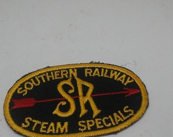 Spring Sale Vintage Southern Railways Steam Specials Patch