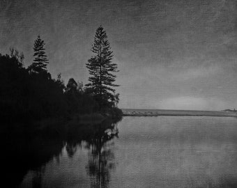 THE LAGOON - Limited Edition Giclee Print