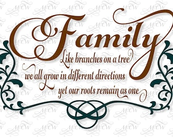 Family Roots SVG