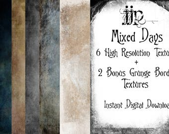 Mixed Days - Fine Art Photoshop Textures. High Resolution. Instant Digital Download