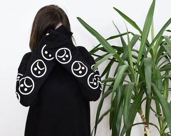 シ Yung Lean Street Style Sad Boys Sweater Black or White シ