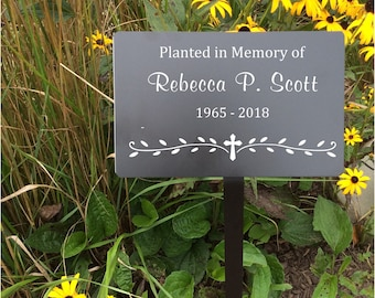memorial garden markers, memorial plaque, outdoor metal plaques, name plates, name tag, memorial tree, name marker, Metal tags, Plant plaque