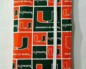List Taker Organizer Coupon Holder Notepad Clutch - U of M - University of Miami