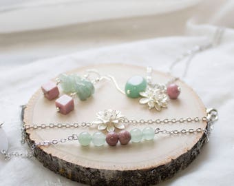 Fertility Gemstone Jewelry Set for Mom Trying to Conceive Fertility Gemstones - Fertility Bracelet Gift for Mothers Day Infertility Jewelry