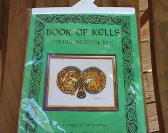 Book of Kells Cross Stitch Kit Letter M