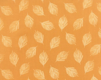 Mustard Gold Leaf Fabric - Valley by Sherri Chelsi by Moda - 1 Yard