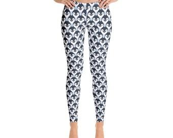 Penguin Leggings, Penguin Lover Leggings, Penguin Gifts, Penguin Yoga Pants, Penguin Pants, Yoga Leggings, Workout Pants