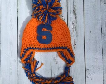 Syracuse Spirit Hat - Orange Blue