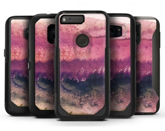 Dark v2 Absorbed Watercolor Texture - OtterBox Case Skin-Kit for the iPhone, Galaxy & More