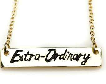 Gold Extra-Ordinary Necklace