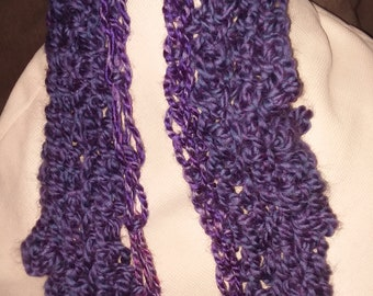 Whimsical Crochet Scarf