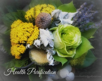 Gift Of Health Purification Dried Bouquet Tussie Mussie
