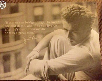 James Dean decoration