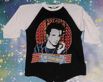 ADAM ANT New Wave Rock Shirt Size M