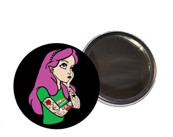 Arabella the Punk Princess Compact Mirror
