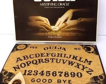 Parker Bros. Ouija Mystifying Oracle Board Game