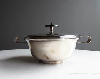 Mueck-Cary Silver plate Casserole Pot
