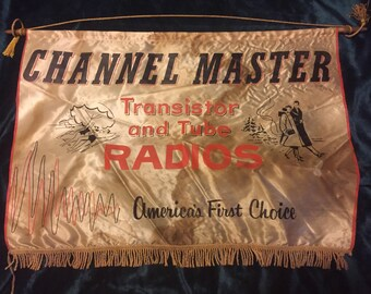 1950's Channel Master window display