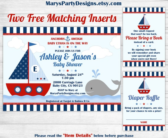ahoy invitations nautical shower it s pid baby advice its card boy boat a
