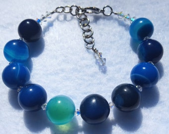 Blue Banded Agate