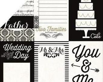 Echo Park Scrapbook Paper - Wedding Day