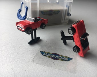 Sunbeam Alpine Tiger - Vintage Micro Machine Car Cufflinks. Perfect fathers day / valentines / birthday / wedding or christmas gift