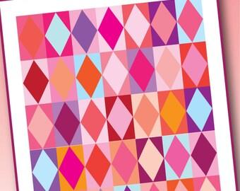 PDF- BEST FRIENDS quilt pattern