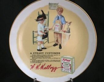 Kellog's A Steady Customer Plate