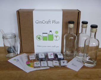 GinCraft Plus - make your own craft style gin (deluxe kit)