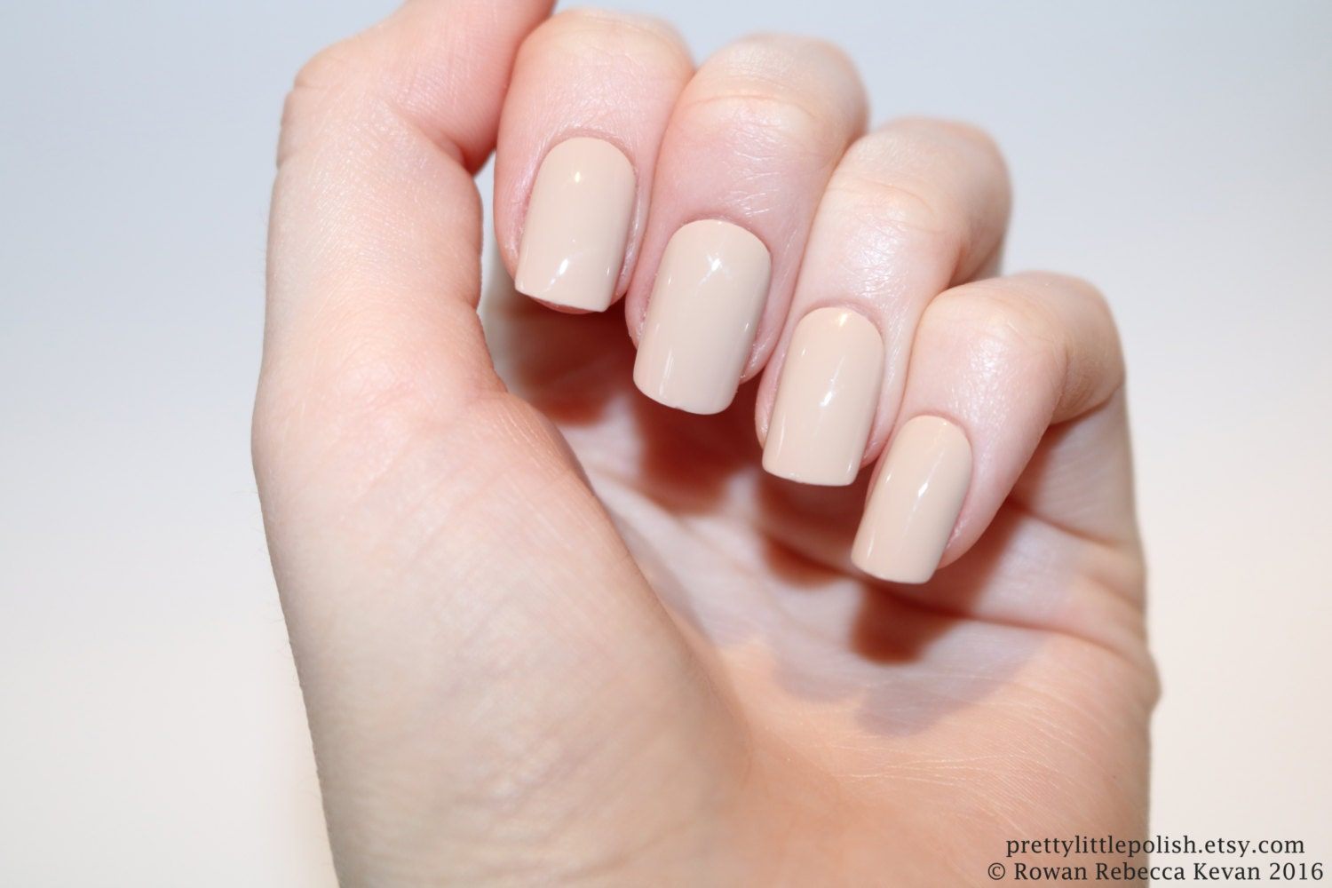 Nude short square nails Nail designs Nail art Nails