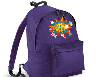 Chemistry Is A Blast kids backpack