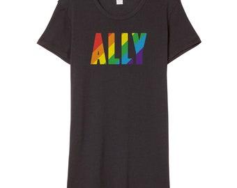 LGBTQ Ally Shirt | Gay Pride Shirt | LGBT Ally Shirt | Pride Ally Shirt | Pride Parade Shirt | Allies Shirt | Straight Ally Shirt