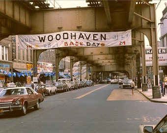 Queens  Woodhaven  Jamaica Avenue And 80th Street (1979)
