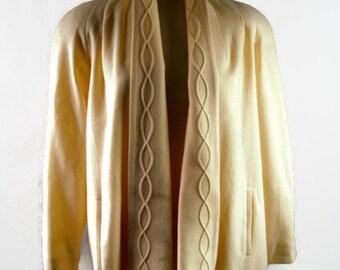Vintage Alorna 100% Wool Women's Coat