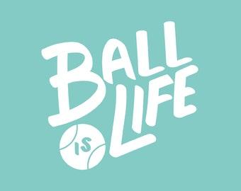 Ball is Life: Bandana Text Add On