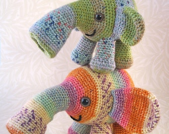 Tooterphants Amigurumi Pattern PDF - Crochet Pattern