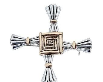 St. Brigid Cross Brooch - 062248