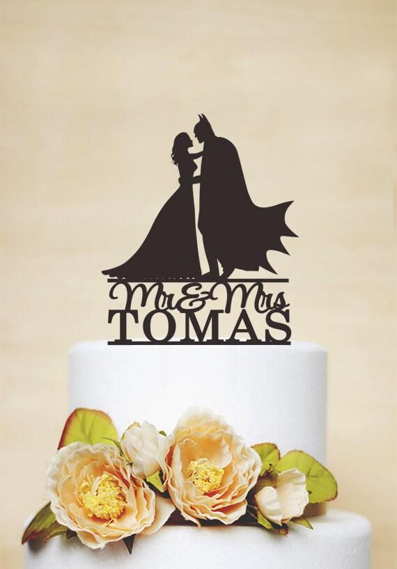 Batman And Bride Cake Topper