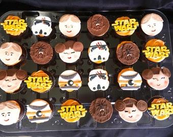 The Force Awakens 15 pcs Cookies