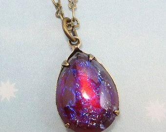 Il340x27010413268733it7gversion0 mexican opal necklace dragons breath necklace fire opal necklace pendant aloadofball Choice Image