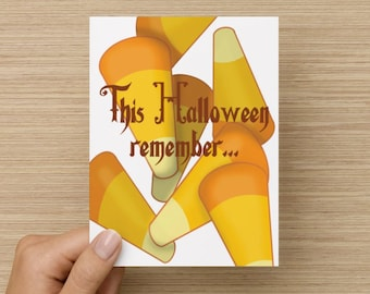 This Halloween remember... you don't like candy corn