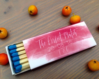50 Personalized Matchboxes * Custom Matchbox * Photo Matchbox * Personalized Matches * Customized Matchboxes * Party Matches