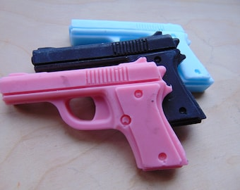 Soap pistol gun party favor {birthday, police officer, cops and robbers}