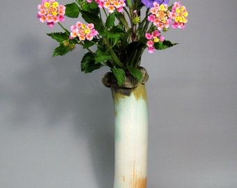 Porcelain Flower Vase, Contemporary