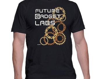 Steins;Gate Anime T-Shirt Future Gadget Labs