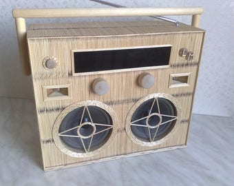 Toothpick FM radio art, unit world product