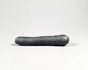 Ceramic Pipe Chillum BASALT IX