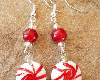 Starlite candy glass bead Drop Earrings